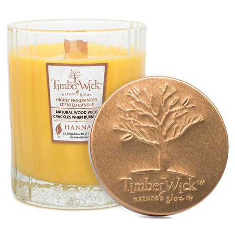 Timberwick Hawaiian Delight Scented Wax Textured Tumbler Candle - Candlemart.com