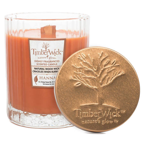 Timberwick Warm Gingerbread Scented Wax Textured Tumbler Candle - Candlemart.com