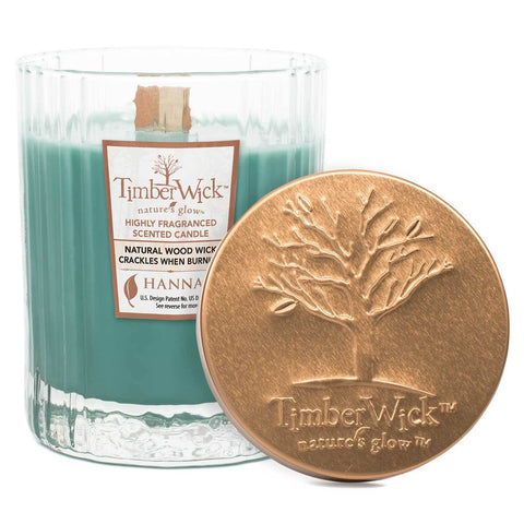 Timberwick Woodland Terrace Scented Wax Textured Tumbler Candle - Candlemart.com