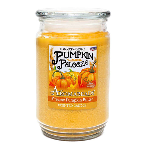 Aromabeads Creamy Pumpkin Butter Scented Candle Aromabeads Candlemart.com $ 9.99