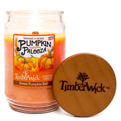 Candlemart.com TimberWick Sweet Pumpkin Roll Mottled Scented Wax Candle Timberwick $ 14.99