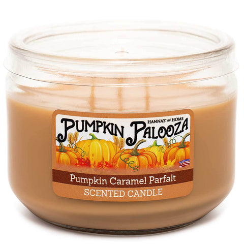 Pumpkin Caramel Parfait Scented 3 wick Candle Candles Candlemart.com $ 7.99