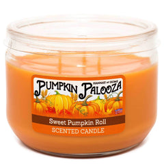 Sweet Pumpkin Roll Scented 3 Wick Candle Candles Candlemart.com $ 7.99