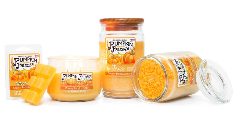 Aromabeads Creamy Pumpkin Butter Scented Candle - Candlemart.com
