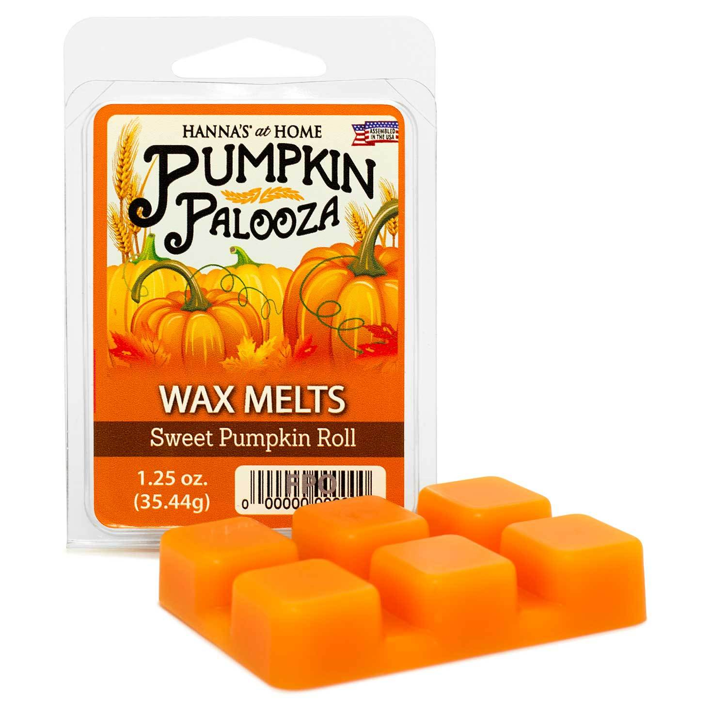 Sweet Pumpkin Roll Scented Wax Melts - Candlemart.com