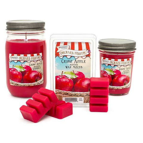 Crisp Apple Scented Large Jar Candle - Candlemart.com