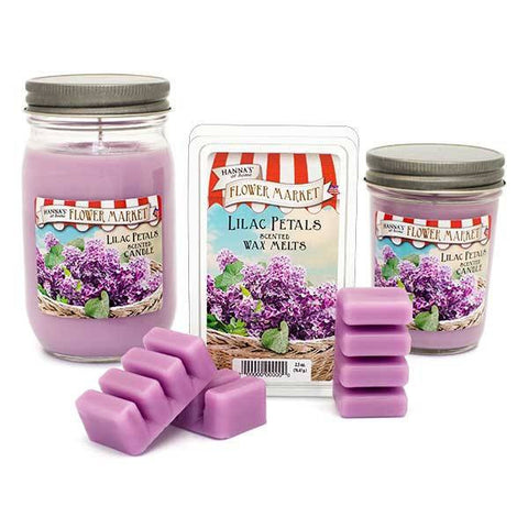 Lilac Petals Scented Large Jar Candle Candles Candlemart.com $ 9.99