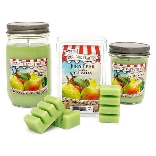 Juicy Pear Scented Wax Melts - Candlemart.com