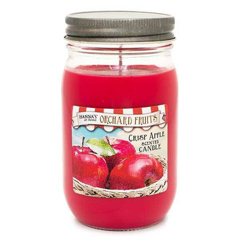Crisp Apple Scented Large Jar Candle Candles Candlemart.com $ 9.99