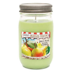 Juicy Pear Scented Large Jar Candle - Candlemart.com