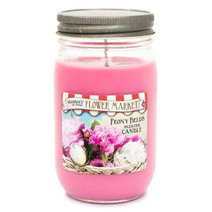 Peony Fields Scented Large Jar Candle Candles Candlemart.com $ 9.99