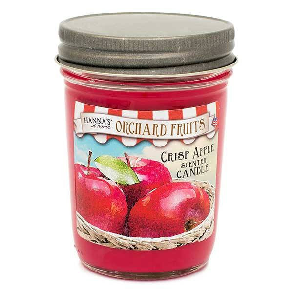 Crisp Apple Scented Small Jar Candle - Candlemart.com