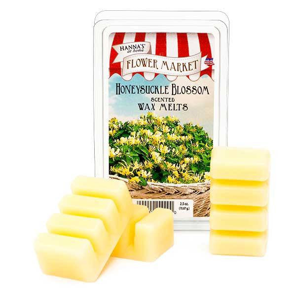 Honeysuckle Blossom Scented Wax Melts - Candlemart.com
