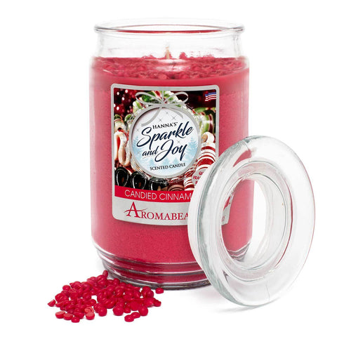 Aromabeads Candied Cinnamon Scented Candle - Candlemart.com