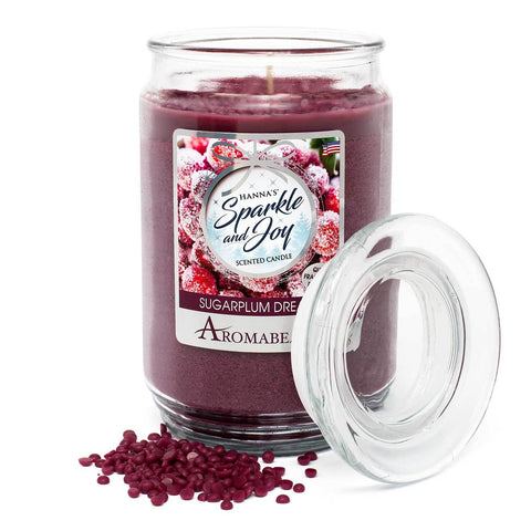 Aromabeads Sugarplum Dream Scented Candle Aromabeads Candlemart.com $ 9.99