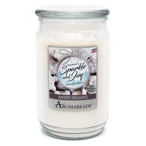 Aromabeads Winter Delights Scented Candle Aromabeads Candlemart.com $ 9.99