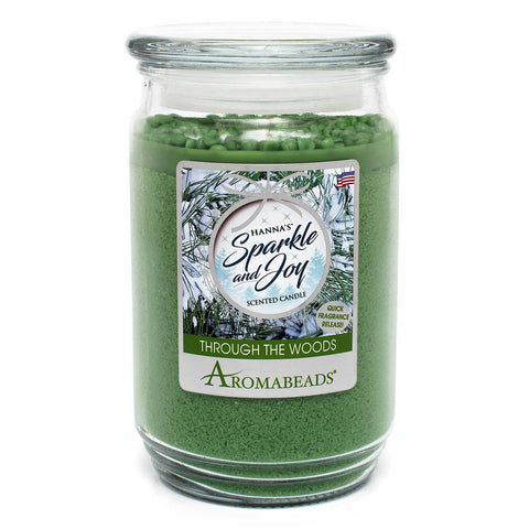 Aromabeads Through The Woods Scented Candle - Candlemart.com