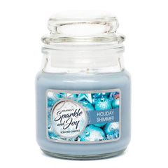Holiday Shimmer Scented Mini Candle - Candlemart.com