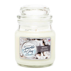 Winter Delights Scented Mini Candle - Candlemart.com