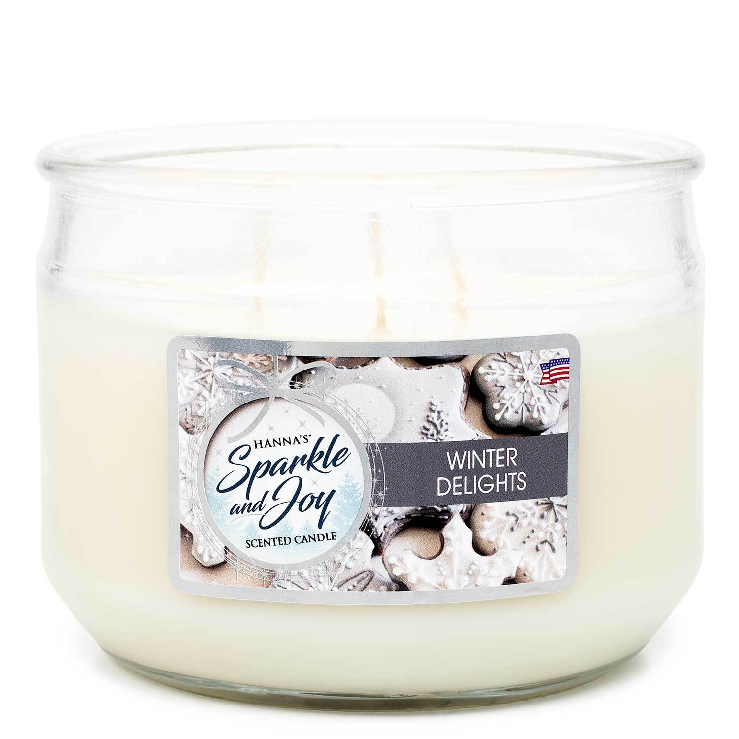 Winter Delights Scented 3 wick Candle - Candlemart.com