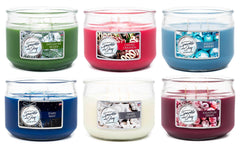 Holiday Shimmer Scented 3 wick Candle Candles Candlemart.com $ 7.99