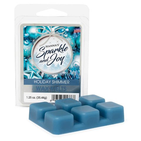 Holiday Shimmer Wax Melts 6 pack