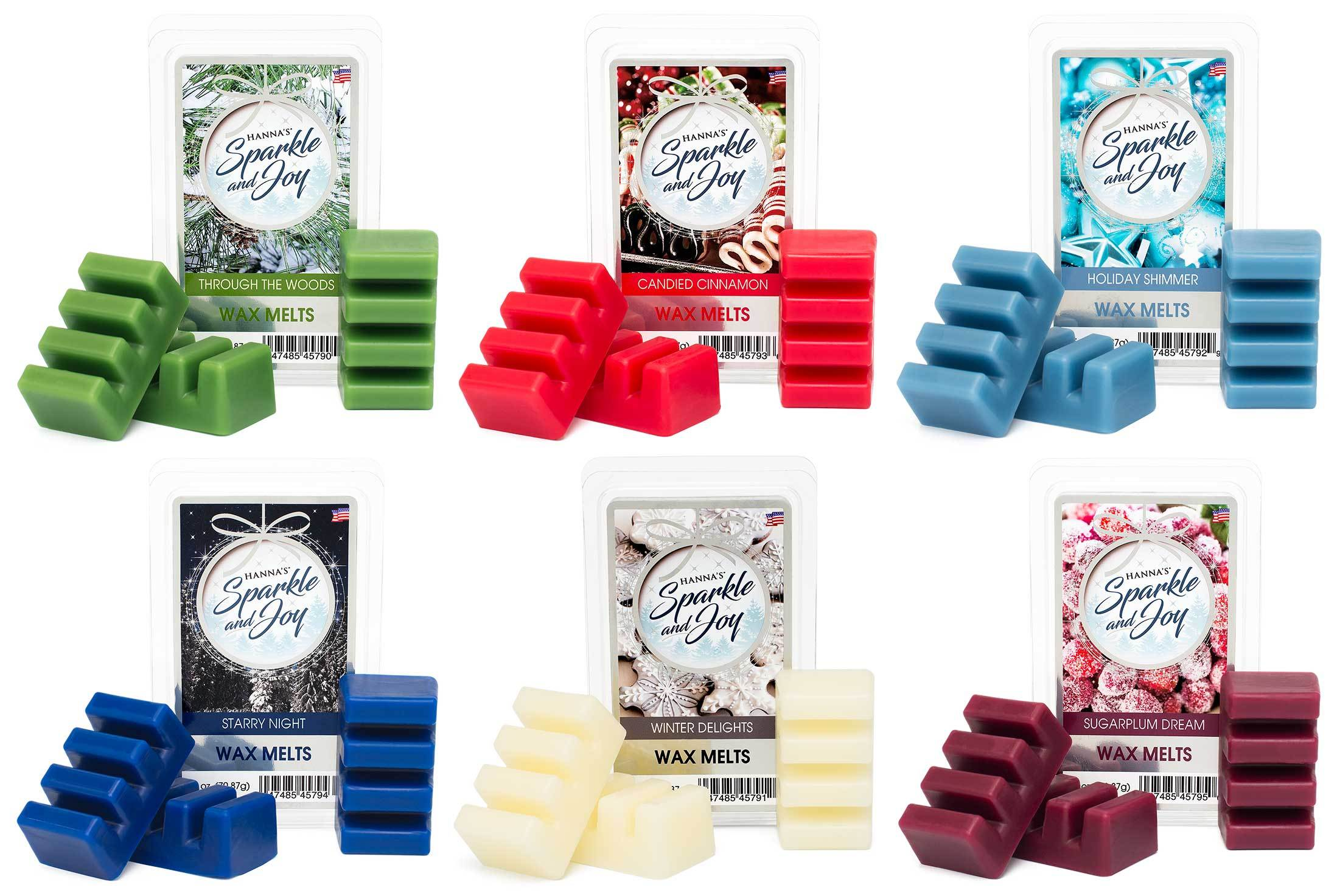 Holiday Shimmer Scented Wax Melts Melts Candlemart.com $ 2.49