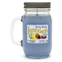 Candlemart.com Berry Berry Lemonade Scented Pint Jar Candle Candles $ 11.99