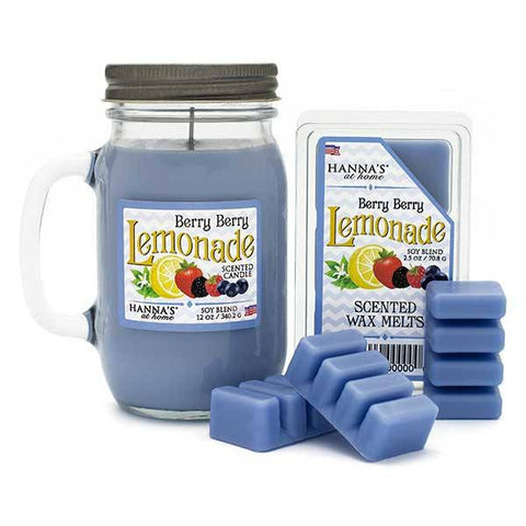 Berry Berry Lemonade Scented Pint Jar Candle Candles Candlemart.com $ 11.99