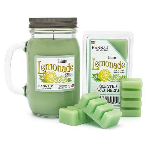 Lime Lemonade Scented Pint Jar Candle - Candlemart.com