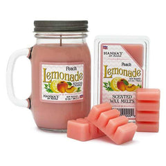 Peach Lemonade Scented Pint Jar Candle Candles Candlemart.com $ 11.99