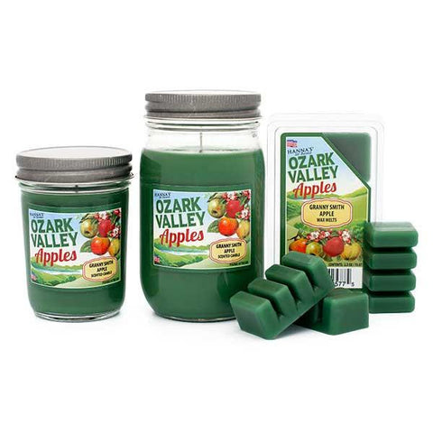 Granny Smith Apple Scented Wax Melts Melts Candlemart.com $ 2.49