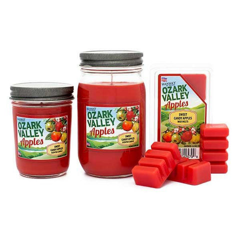 Sweet Candy Apples Scented Small Jar Candle Candles Candlemart.com $ 6.99