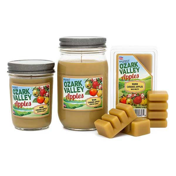 Warm Caramel Apples Scented Large Jar Candle Candles Candlemart.com $ 9.99
