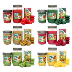 Ozark Honeycrisp Apple Scented Small Jar Candle Candles Candlemart.com $ 5.49