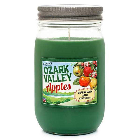 Granny Smith Apple Scented Large Jar Candle Candles Candlemart.com $ 9.99