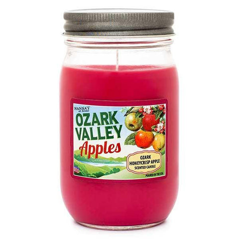 Ozark Honeycrisp Apple Scented Large Jar Candle Candles Candlemart.com $ 9.99
