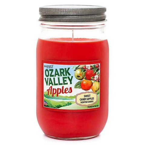 Sweet Candy Apples Scented Large Jar Candle Candles Candlemart.com $ 9.99