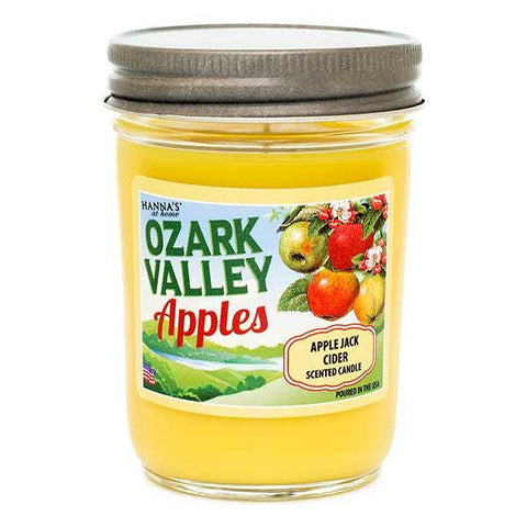 Apple Jack Cider Scented Small Jar Candle - Candlemart.com