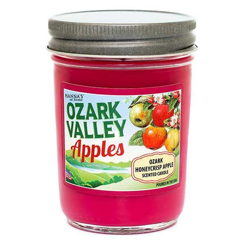Ozark Honeycrisp Apple Scented Small Jar Candle Candles Candlemart.com $ 6.99