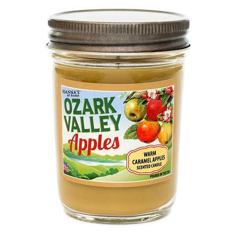 Warm Caramel Apples Scented Small Jar Candle Candles Candlemart.com $ 6.99