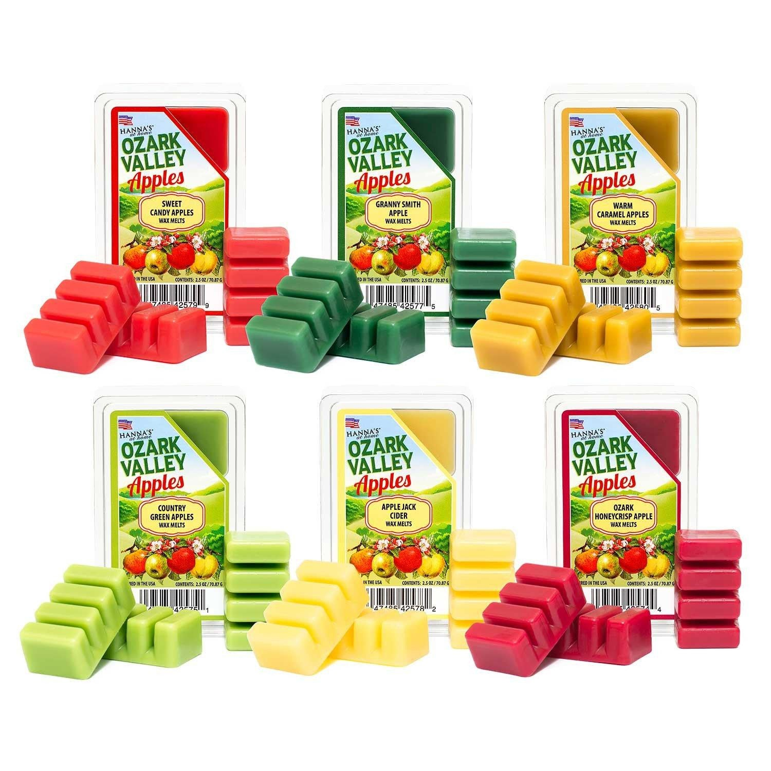 Country Green Apples Scented Wax Melts Melts Candlemart.com $ 2.49
