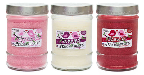 Valentine's Aromabeads Passion Scented Canister Candle - Candlemart.com