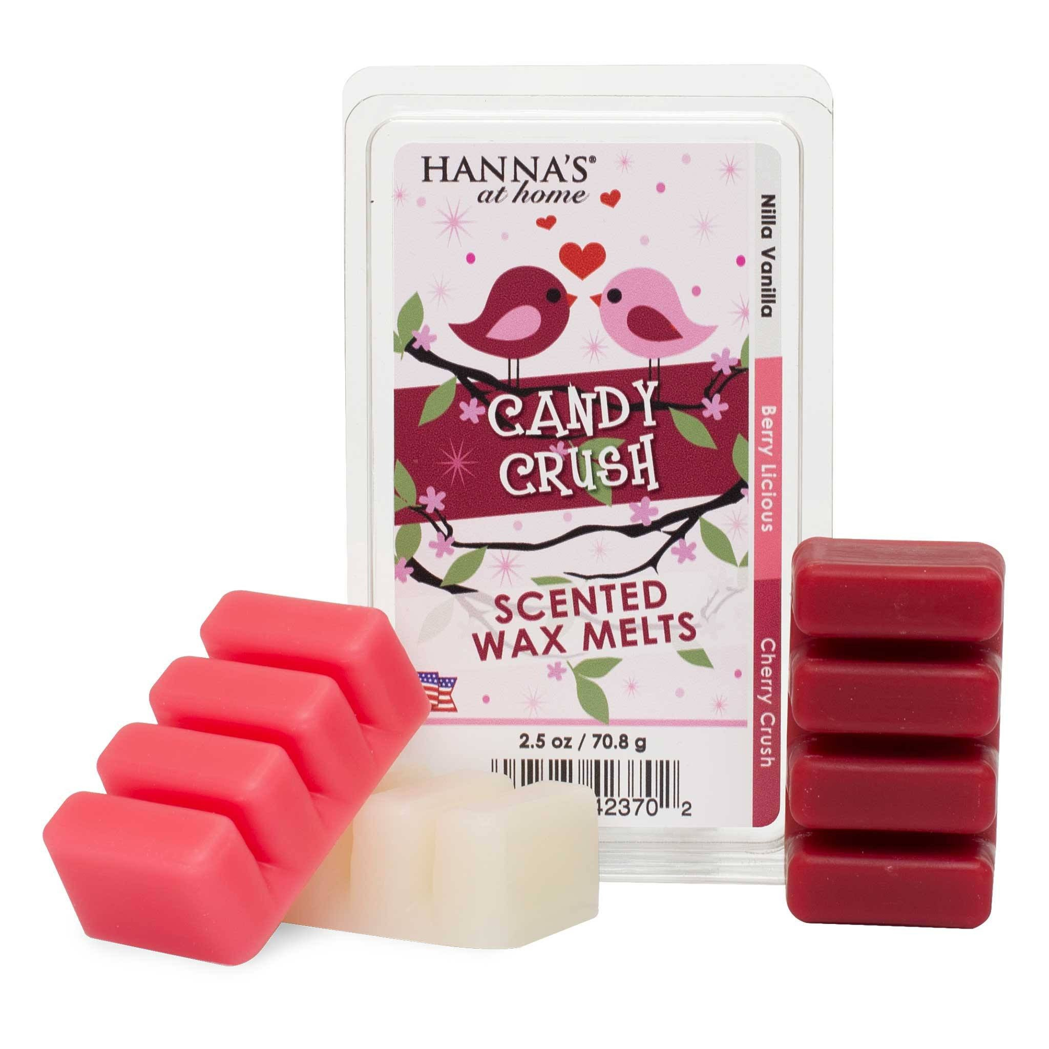 Valentine's Triple Pour Candy Crush Scented Wax Melts - Candlemart.com - 1