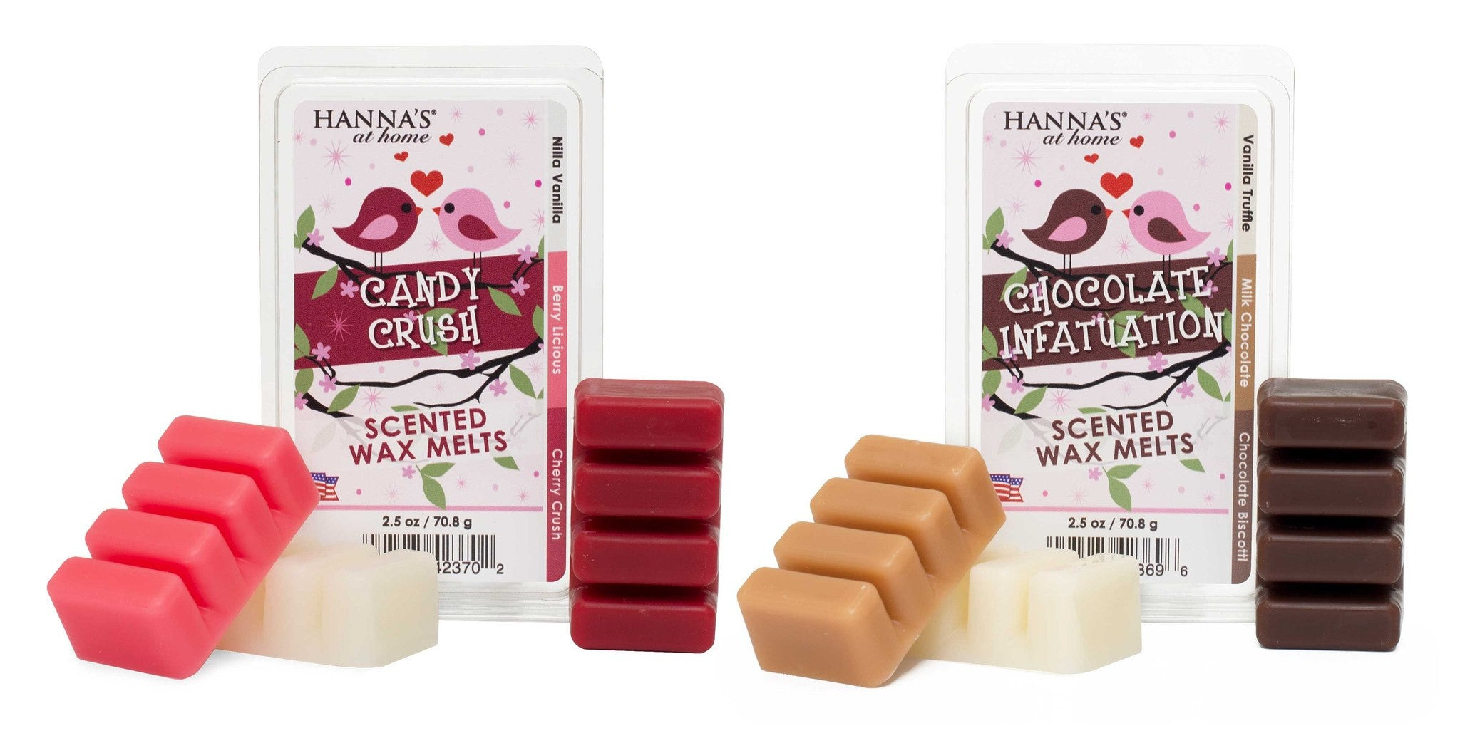Valentine's Triple Pour Candy Crush Scented Wax Melts - Candlemart.com - 2