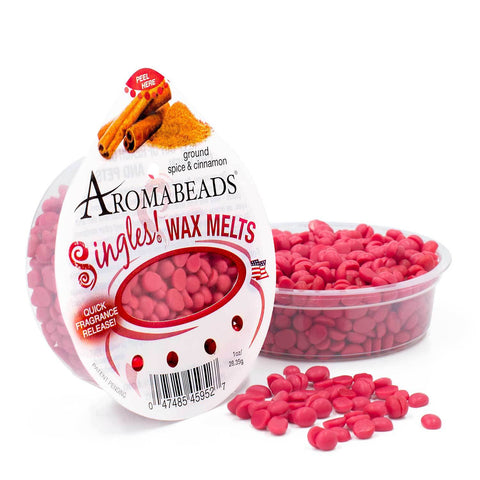 Aromabeads Singles Ground Spice & Cinnamon Scented Wax Melts - Candlemart.com