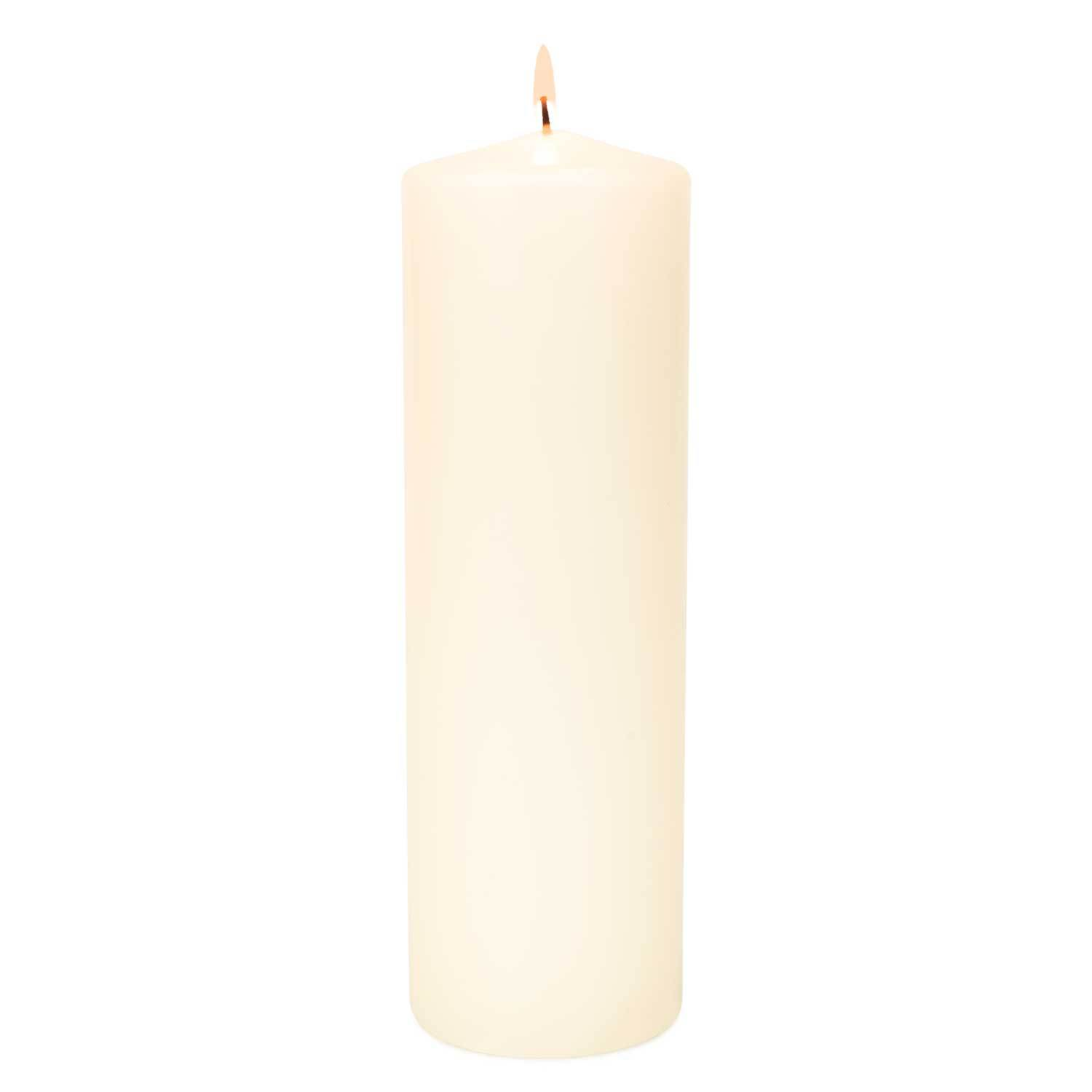 3x12 Unscented Ivory Pillar Candle Candles Candlemart.com $ 4.99