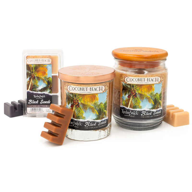 Timberwick Coconut Beach Scented Candle