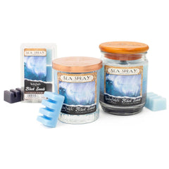TimberWick Sea Spray Scented Mottled Candle Timberwick Candlemart.com $ 12.99