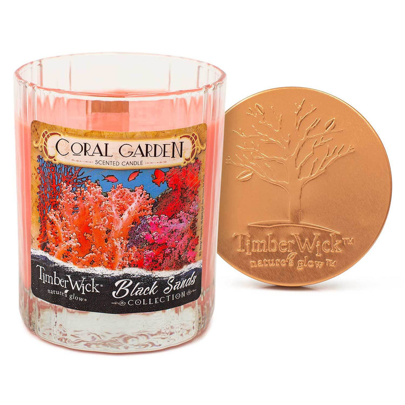 Timberwick Coral Garden Scented Candle